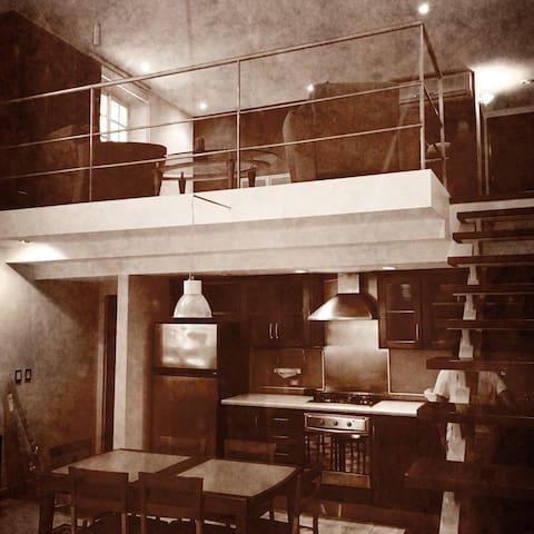 Loft en Casco Viejo con parking - Panamá - Wohnung