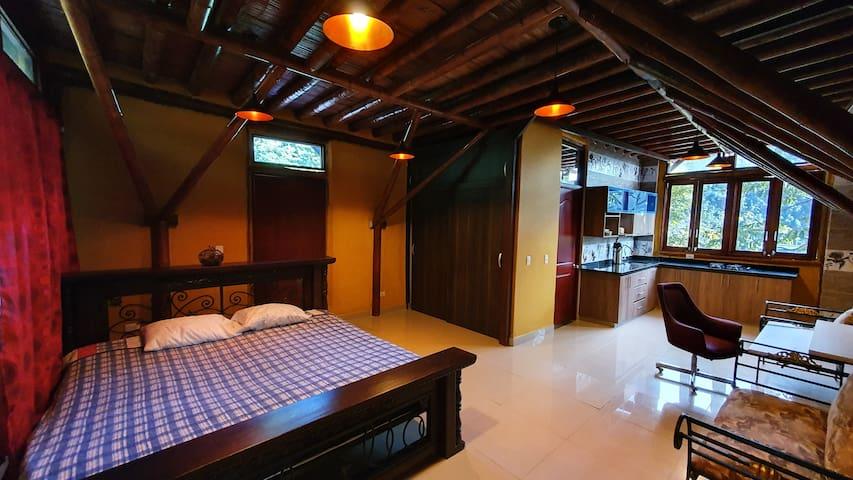 "La Cumbamba - the ""Caciques"" studio room"