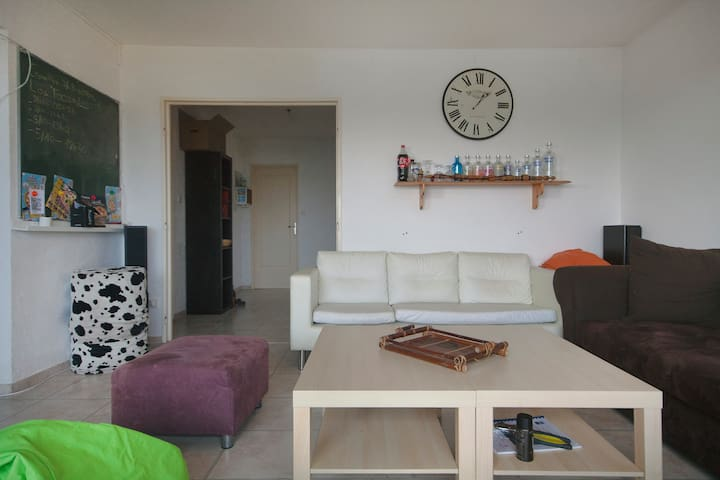 Chambre en appartement (105m²) - Brest Bellevue - Brest - Appartement