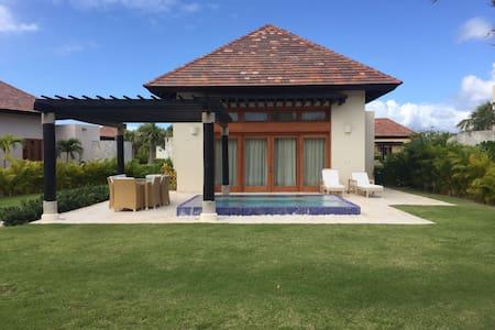 Villa pequeña 202 mts2 con piscina - Cap Cana