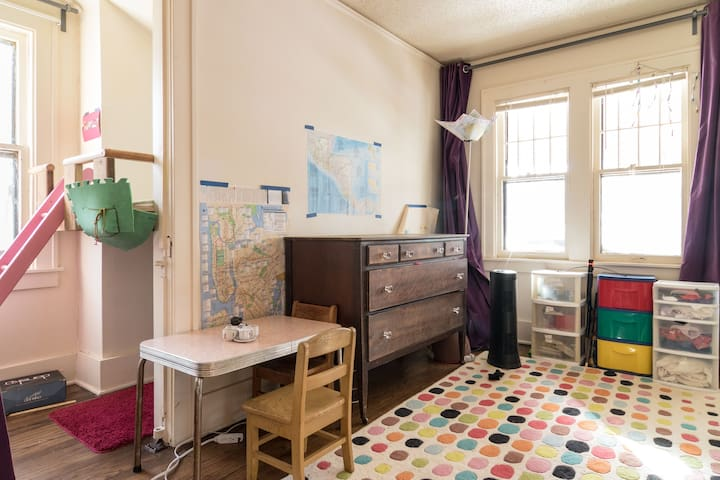Sunlit, quiet, charming, upper flat - Ferndale - Apartment