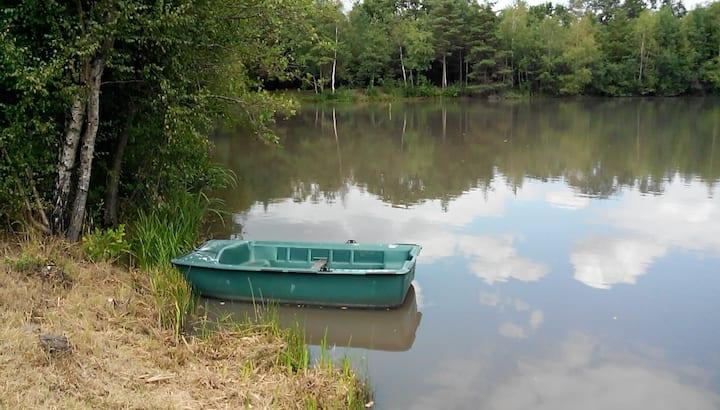 Loire chateaux et foret calme et tranquillité