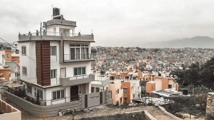 Freeway House Kathmandu view