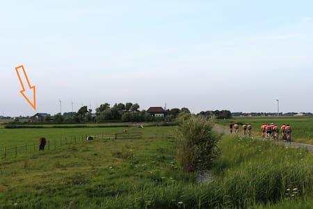 Uniek Appartement + terras in polder Vallis Blanda