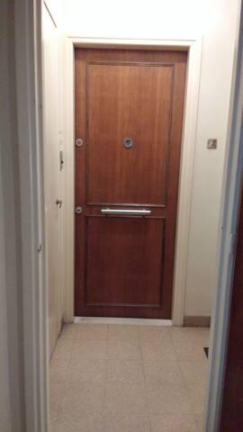 Palier and apt door