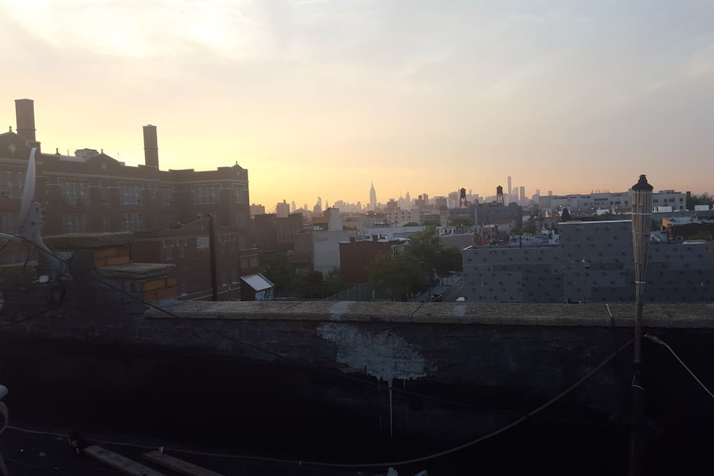 Roof for grilling and nice view