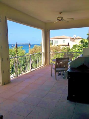 Cruz Bay Convenience - Ocean Views!