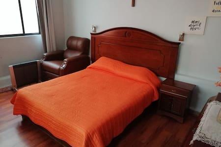 La casa de Vicky .... Habitación cama Queen size