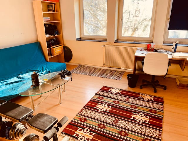 Spacious room w/sofabed nice view, RWTH & Downtown