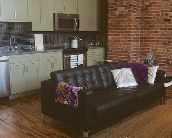 Luxury Central Downtown Loft - Asheville - Loft