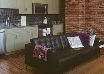Luxury Central Downtown Loft - Asheville