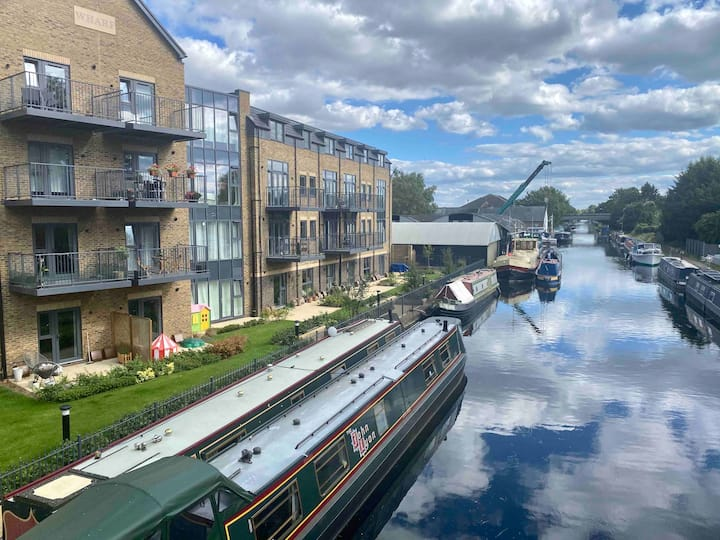 New Canal-Side Apartment with Private Terrace!