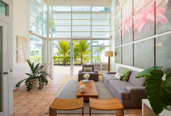 Villa Serenity   Beautiful Caribbean 4 bedroom villa   Pool, beach, tennis and golf