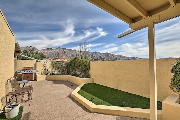 NEW! Tucson Townhome w/ Private Patio & Mtn Views!