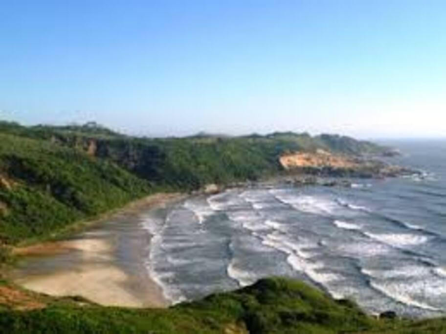 Praia D'agua 5 min para chegar na trilha