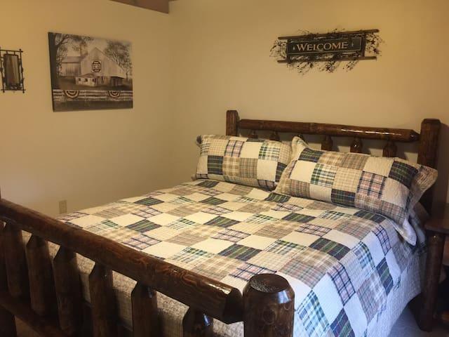 Central Loft Bedroom
