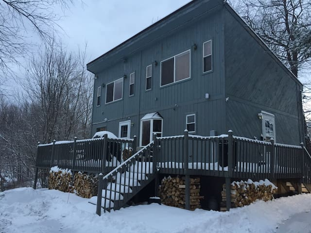 Sunday River Cabin - 5 minutes to skiing & riding! - Bethel - Casa