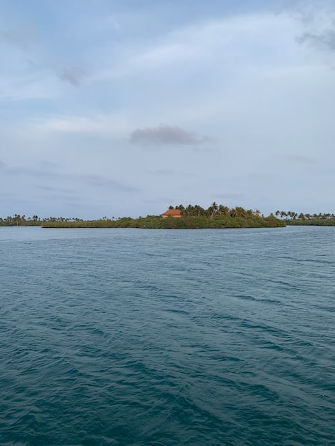 Las palomas, private island in san bernardo