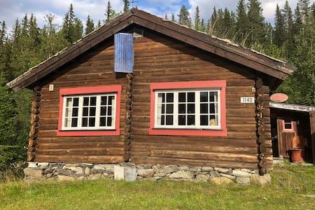 Opplev hyttelivet i svært stille område ved Gålå