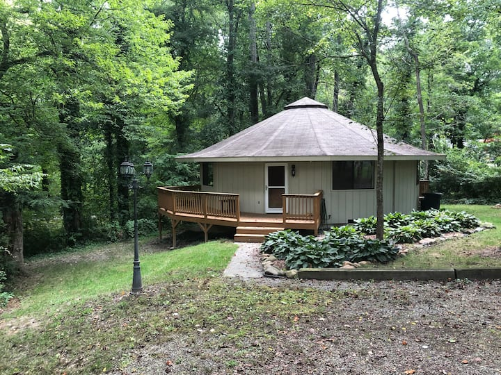 AVL Round House - only 6 miles West of downtown