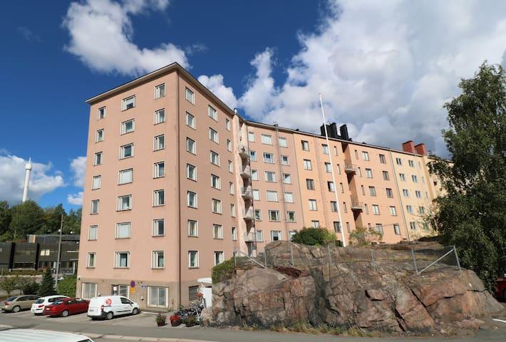 Studio apartment in Helsinki, Josafatinkatu 15