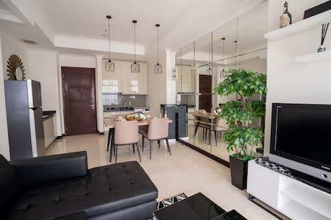 Cozy 3bedroom & 2 Bath with balcony @Permata Hijau