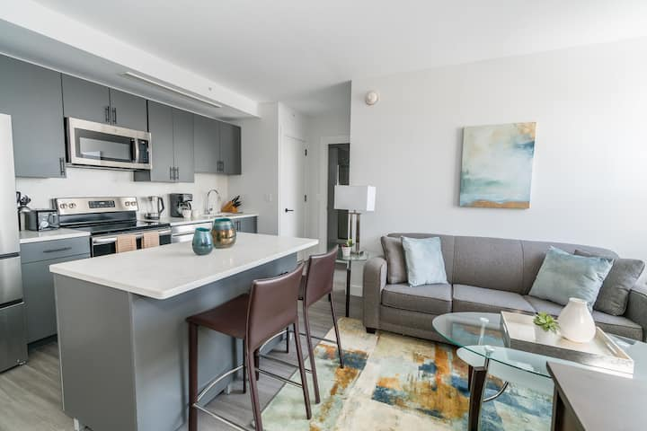 Brand New 1BR Downtown New Rochelle w/ Amenities