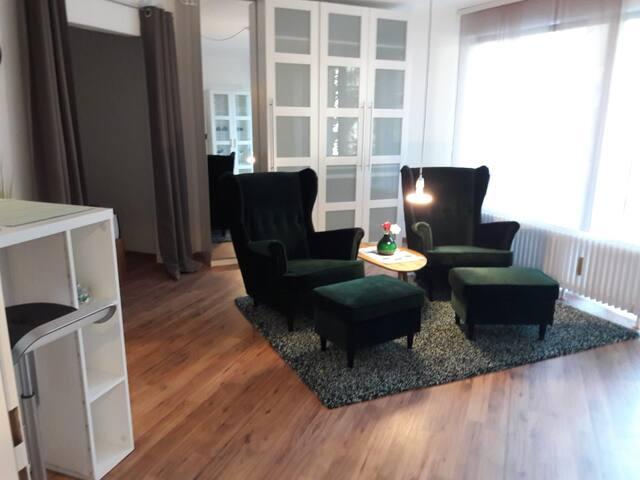 Super schönes  1,5 Zimmer Apartment in City Nähe