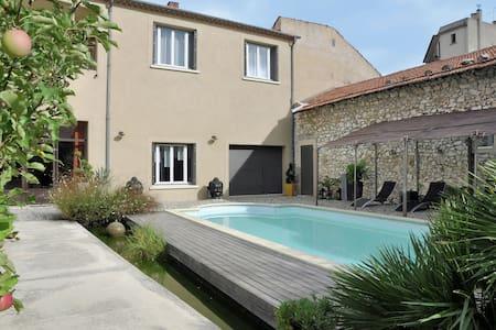 Preciosa villa con piscina en Cavaillon
