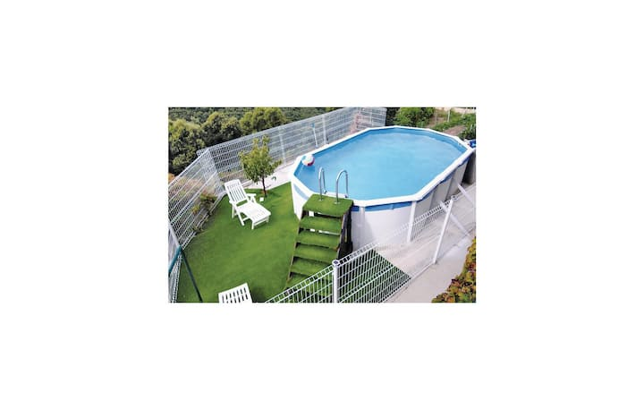 Amazing home in Coggia with Outdoor swimming pool and 2 Bedrooms
