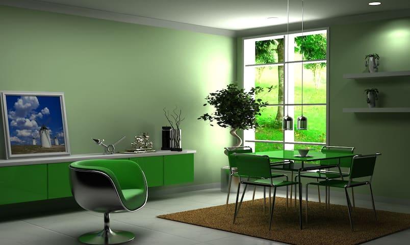 TOPFLOOR: 2 bedroom with 2 bath ( one bath common) - Sherwood Park - Dům