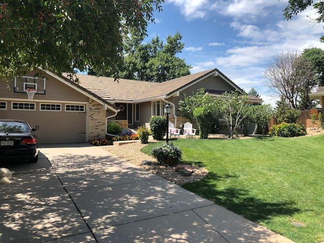Perfect Colorado family home.