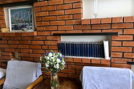 Grandma's Rustic Apartment in Panevezys city