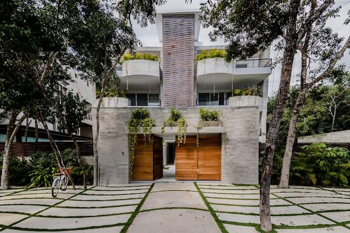 Tulum, Jungle Luxury Casita at Aldea Zama -sleep 6