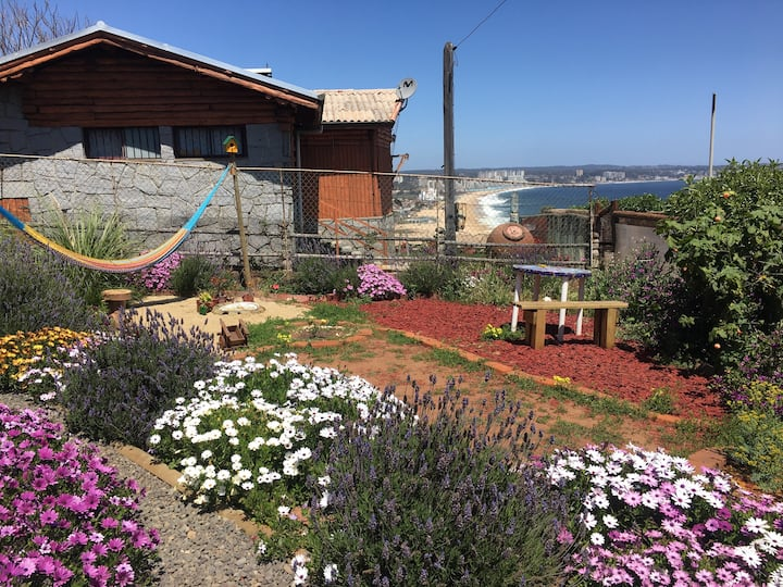 Habitación frente al mar, privada, nueva y hermosa