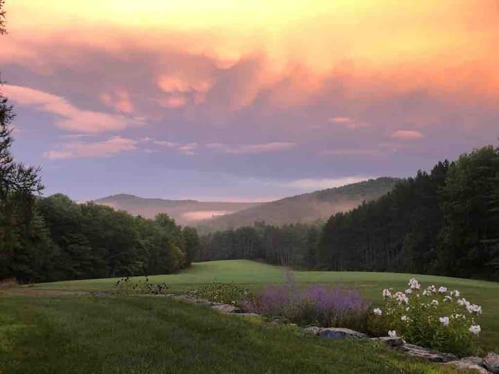 150 acres of serenity at Light Hill in Barnard, VT