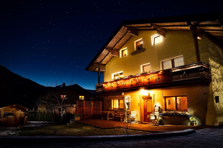 Haus Anna Louise in winter, Niedernsil