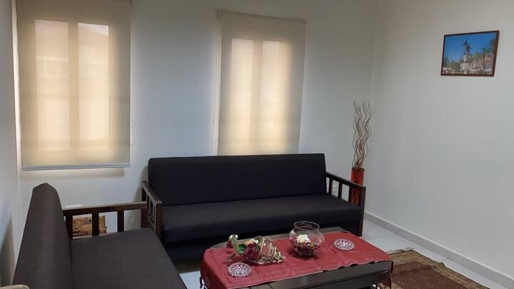 Bright 2 bedrooms apartment in Kfarahbab, GHAZIR