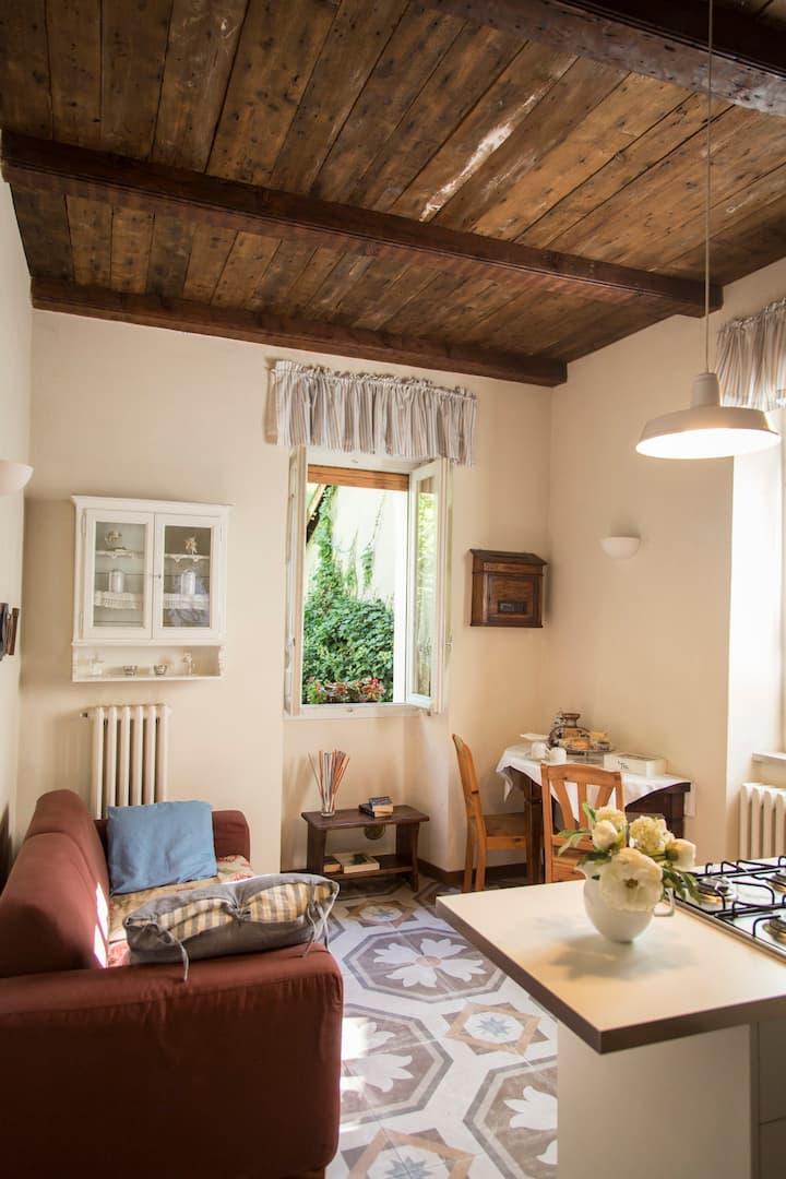Appartamento in corte medioevale del 1200
