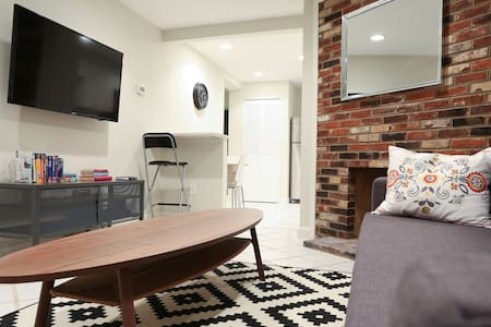 Updated basement apartment, historic DC row house - Washington - Appartamento