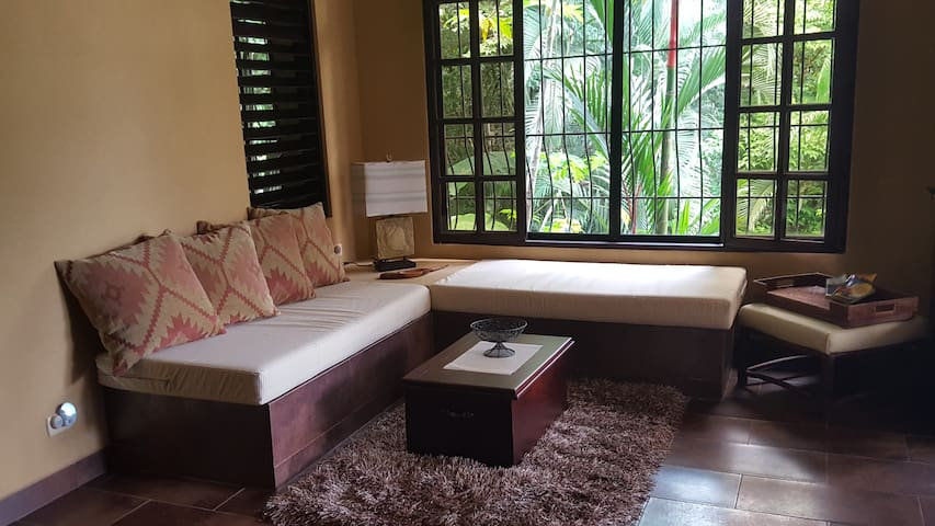 Luxury Jungle Suite with view of the National Park