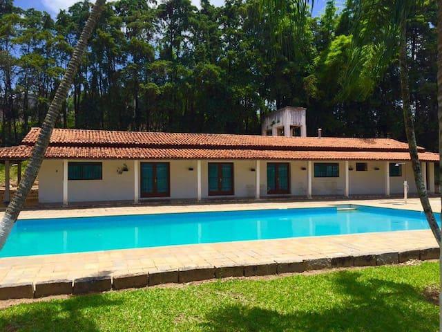 Chácara em Morungaba: Amplo espaço e bela paisagem