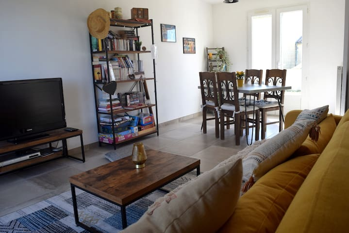 Maison cosy pour 4 personnes