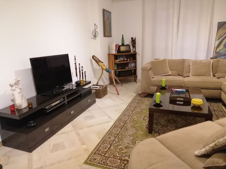 Very pleasant S+2, decorated and equipped, Manar 1