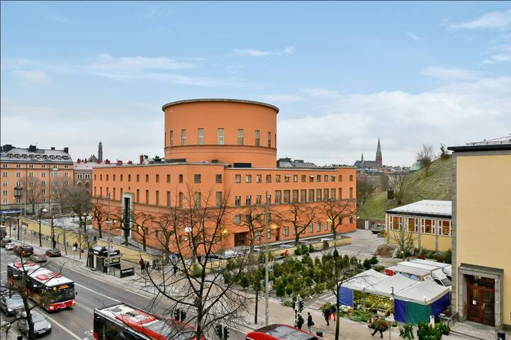 Odenplan apartment