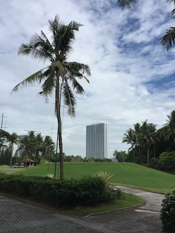 Golf view apartment at very convenience city