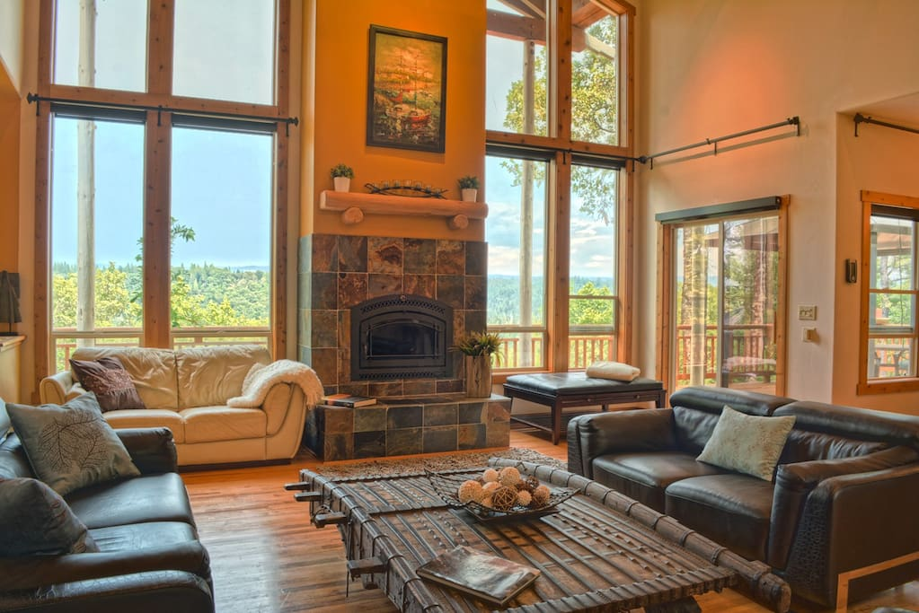 Picture yourself relaxing here with friends, wine, and good conversation