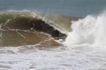 Au coeur de vagues...