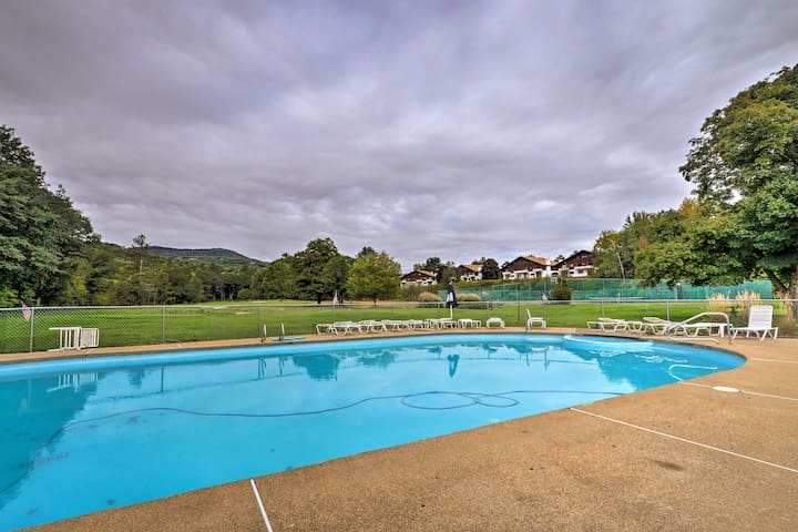 Take a dip in the seasonal community pool for an additional fee.