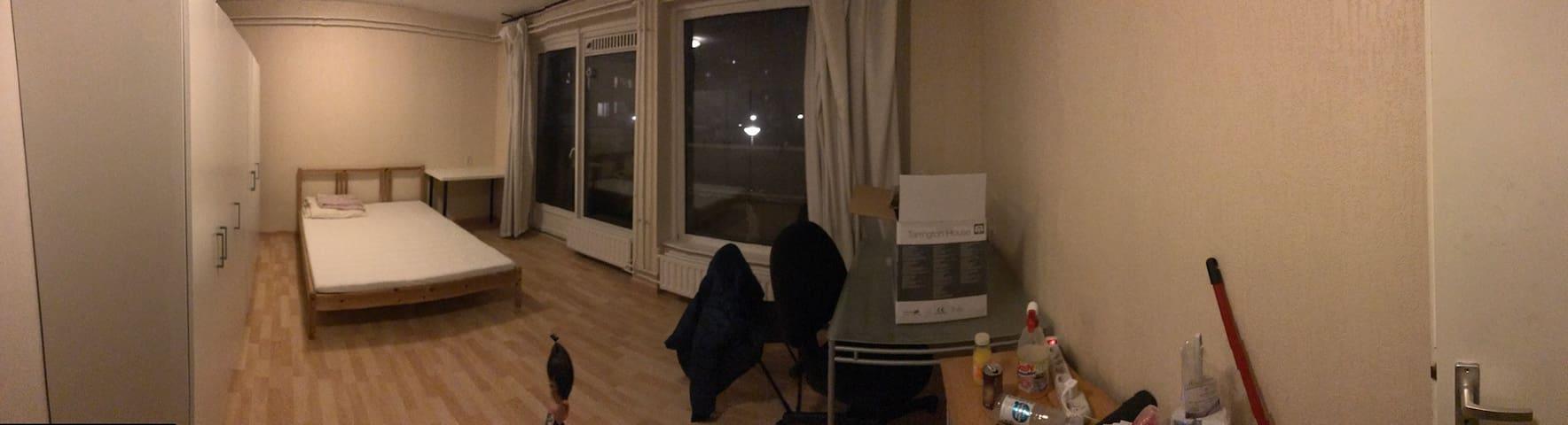Comfortable double room - Amsterdam-Zuidoost - Apto. en complejo residencial